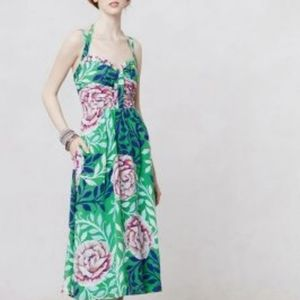 Anthropologie Dresses - Moulinette Soeurs Silk Rosamund Dress